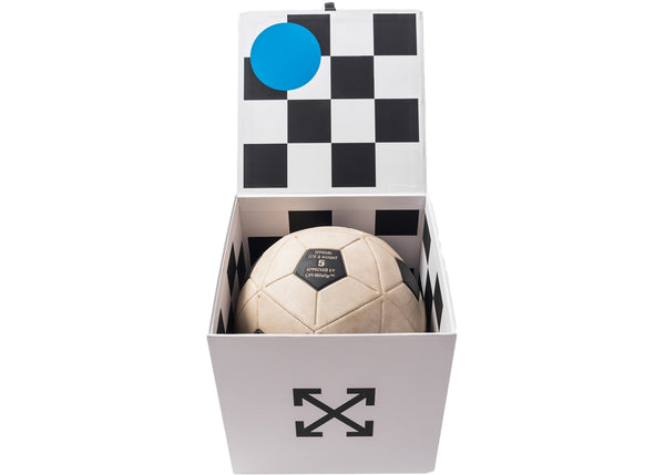 Nike Lab OFF-WHITE NRG Magia Football Soccer Ball SC3520-100