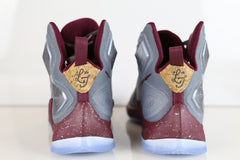 Nike Lebron XIII LMTD Opening Night Wine Cool Grey Deep Garnet 823300-060