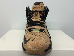 Nike Lebron XII EXT Kings Cork Natural Metallic Gold Gum 768829-100