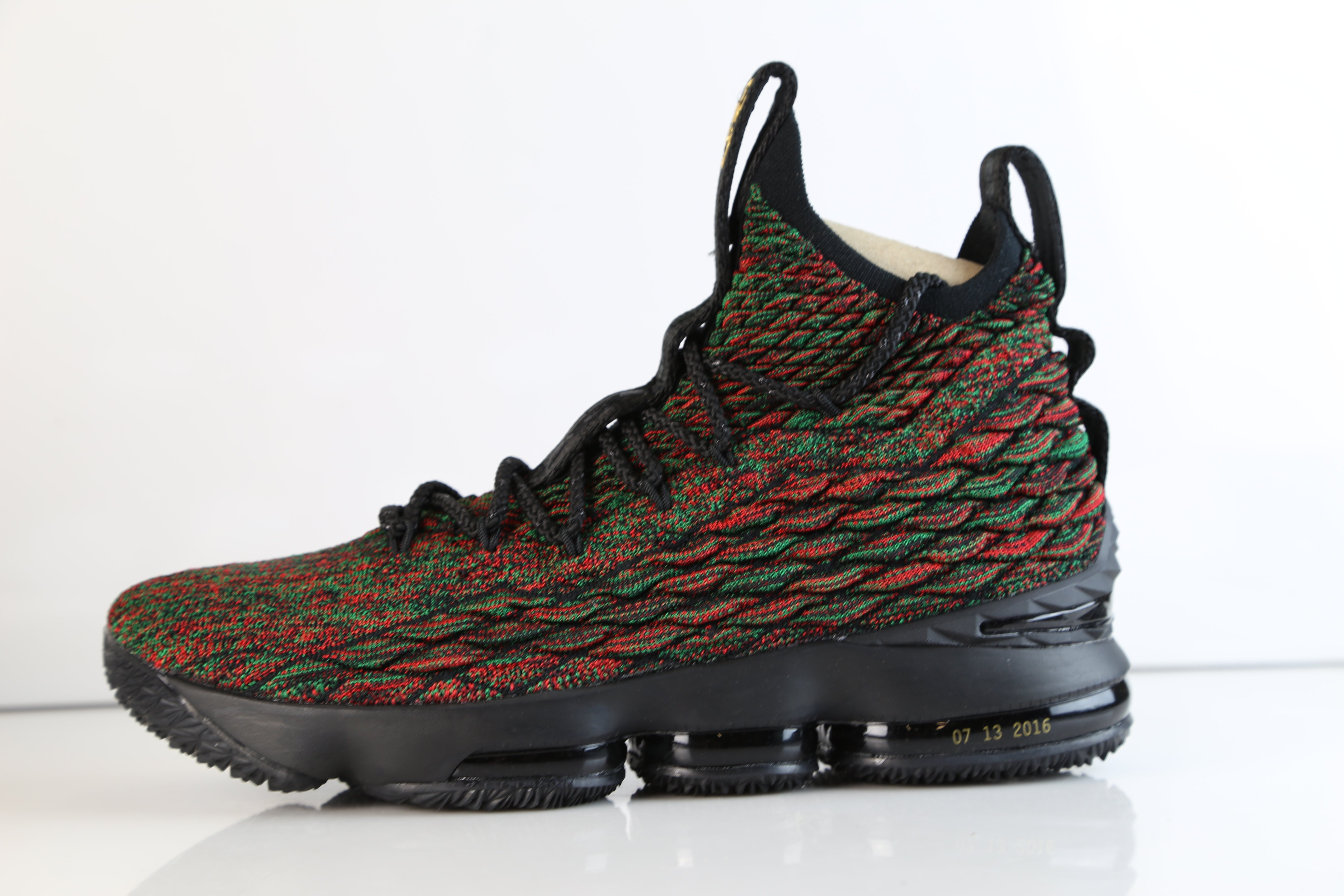 0e7056d31ad8 Nike Lebron XV LMTD BHM Black History Month Multicolor Flyknit 897650-