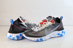 Nike React Element 87 Dark Grey Pure Platinum Photo Blue AQ1090-003
