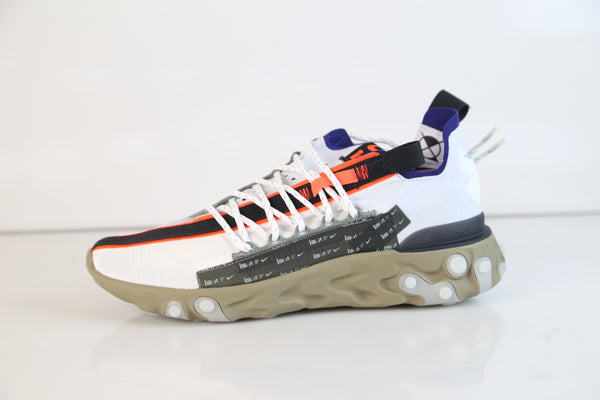 Nike React WR Runner ISPA Summit White Deep Royal Blue AR8555-100
