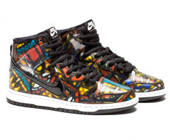 Nike SB X Concepts Dunk High Stained Glass with Special Box 313171-606 or Regular box