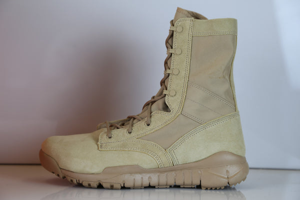 Nike SFB Leather British Khaki Tan Special Forces Boot 688973-200