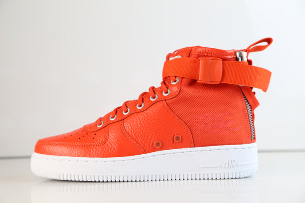 Nike SF AF1 Air Force Mid Team Orange 917753-800