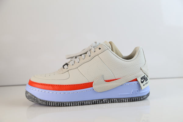 Nike Womens Air Force 1 Jester XX SE Light Bone AT2497-002