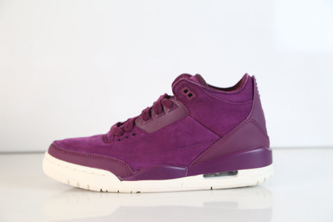 Nike Womens Air Jordan Retro 3 SE Bordeaux AH7859-600