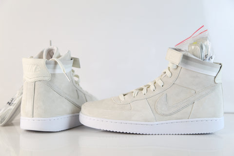 Nike X John Elliott Vandal High PRM Sail White Suede AH7171-101 (NO Codes)