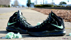 Custom Nike Lebron EXT BLACK SUEDE - Dark Chocolate Mint Chip