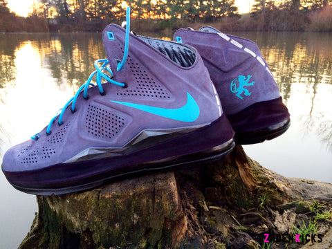 "Custom Nike Lebron EXT Suede ""The Roads Rainy Night"""