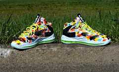 Custom Nike Elite X Inside Out 579827-800 Completed Shoe