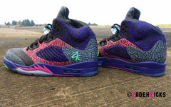 Custom Nike Air Jordan Fresh Prince Lab 3 5 Theme