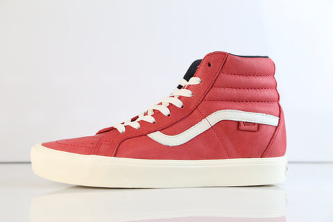 Vans SK8-Hi Reissue Li Horween Leather Lollipop Red VN0A2Y310NF