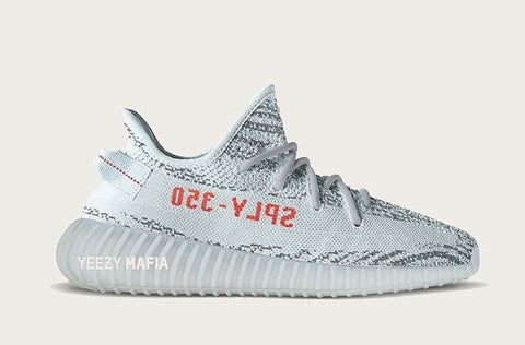 Adidas Yeezy By Kanye West Boost 350 V2 Blue Tint Grey Three High Res Red B37571 Holiday 2017 PRE ORDER