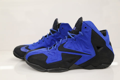 Custom Nike Lebron XI EXT Suede Stealth 2 (work)