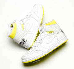 Nike Air Jordan Retro 1 High OG First Class Flight White Dyamic Yellow 555088-170 - PRE ORDER