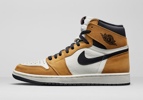 Nike Air Jordan Retro 1 High OG Wheat Toe Golden Harvest Sail Black ROY Adult GS PRE ORDER