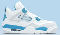 Nike Air Jordan Retro 4 30th Anniv UNC White Carolina Blue - BONUS