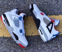 Nike Air Jordan Retro 4 What The White Fire Red Military Blue Grey CI1184-146 - PRE ORDER