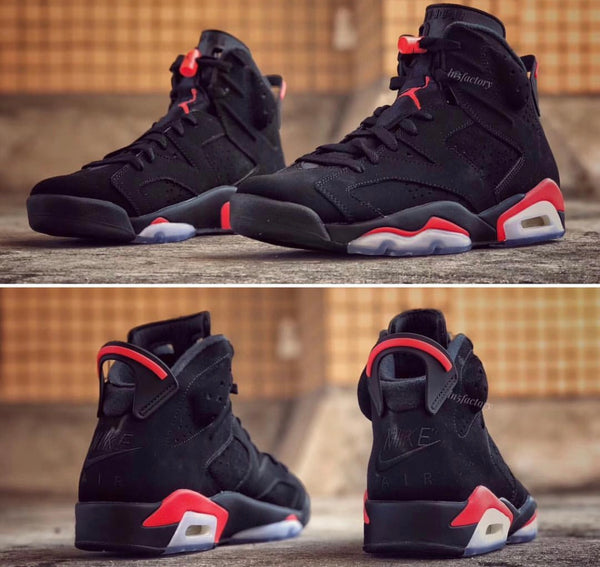 new arrival 0ddb6 517ef Nike Air Jordan Retro 6 OG Black Infrared 2019 PRE ORDER ...