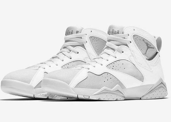 Nike Air Jordan Retro 7 Pure Money White White 2017 Adult and GS PRE ORDER (NO Codes)