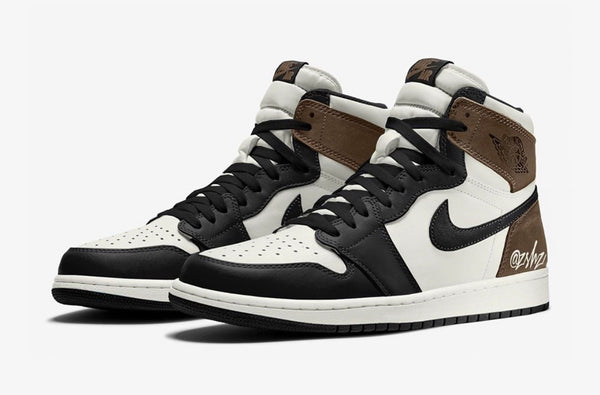 Nike Air Jordan Retro 1 High OG Sail Dark Mocha Black 555088-120 - PRE ORDER