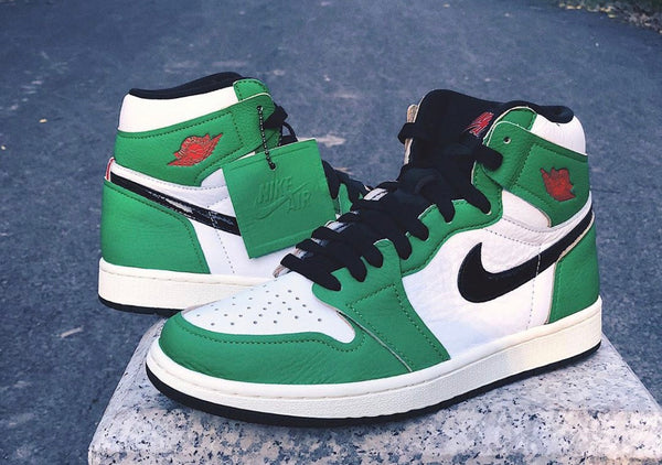 Nike Womens Air Jordan Retro 1 High OG Lucky Green White Sail Black DB4612-300 - PRE ORDER