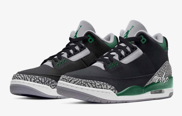 Nike Air Jordan Retro 3 Pine Green Black Cement Grey CT8532-030 - PRE ORDER