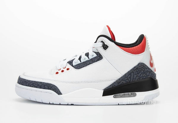 Nike Air Jordan Retro 3 SE White Fire Red CZ6431-100 - PRE ORDER