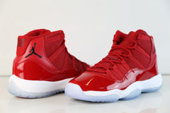 Nike Air Jordan Retro 11 Holiday Red Black White Melo Red Chicago 2017  Adult and GS