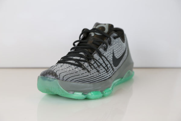 74772aa1f7d0 ... Nike KD 8 Hunts Hill Night Night Silver Pewter Green Glow 749375-020 ...