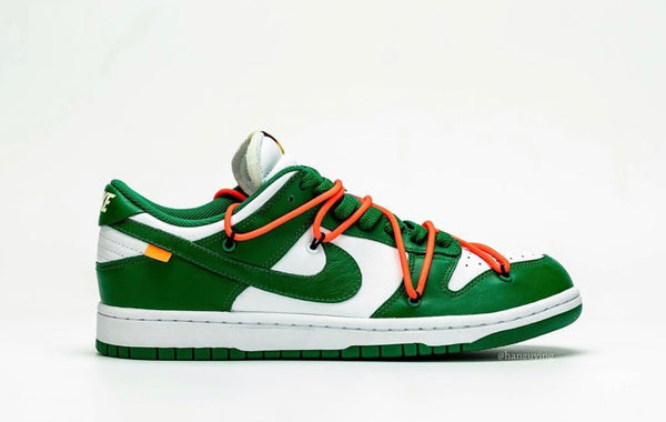 Nike Off-White Dunk Low OW Pine Green White - BONUS