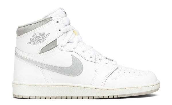 Nike Air Jordan Retro 1 High OG 85 White Neutral Grey BQ4422-100 - BONUS
