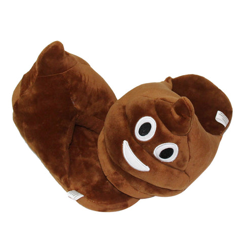 Poop Emoji Slippers