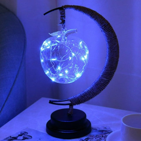 Light-Up Crescent Moon Lamp