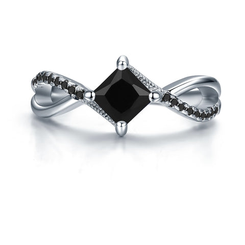 The Wicked Queen Black Gem Ring