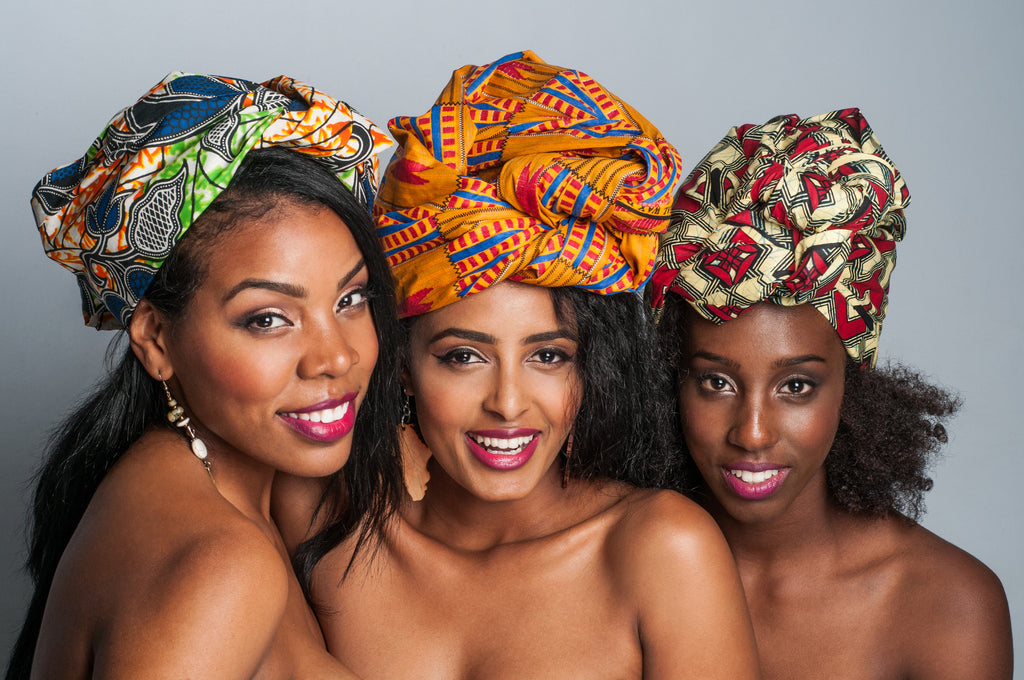 Tips to Wrap your Hair with vibrant African Prints