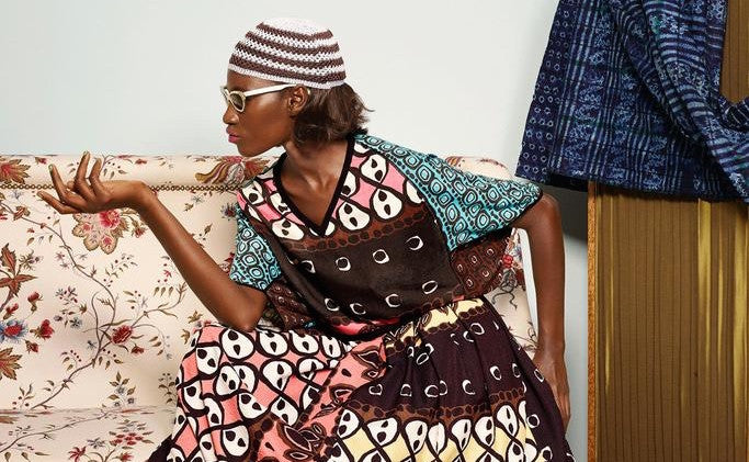 Duro Olowu: Senegalese-inspired vintage collection