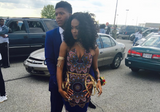 12 Teens rocking African-inspired Prom Dresses