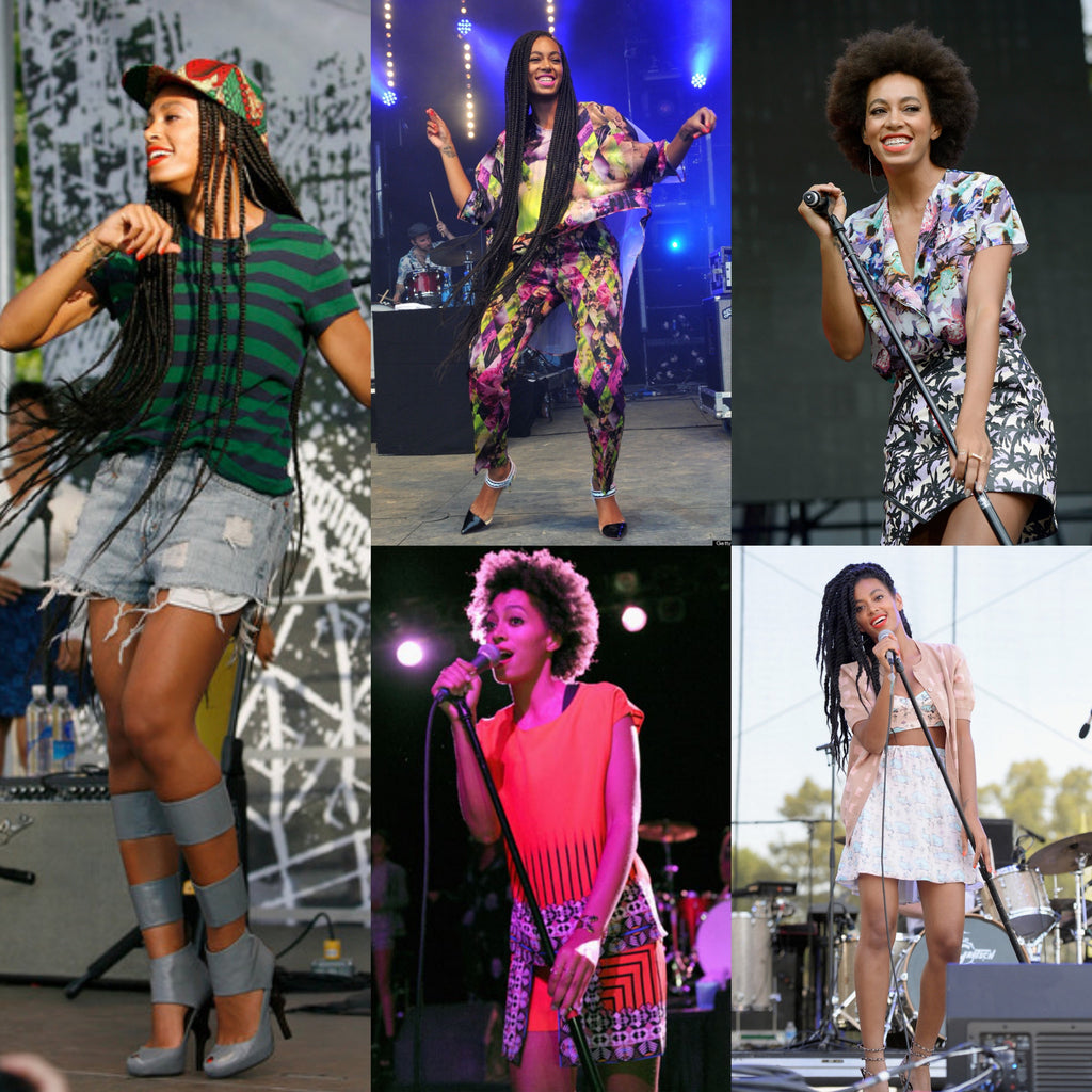 Style Icon: Colours and prints with Solange Knowles