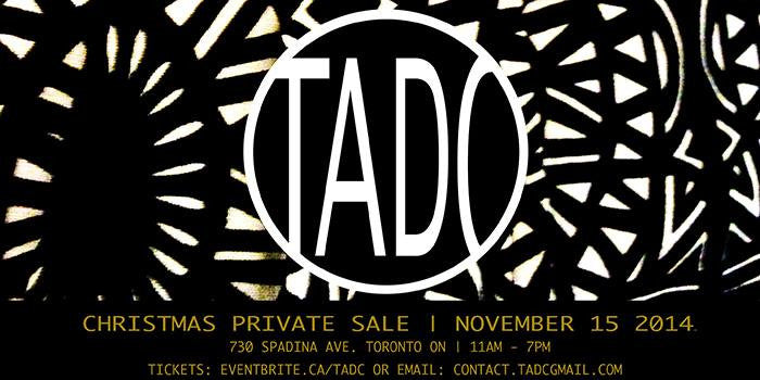 TADC: Private Holiday Sale