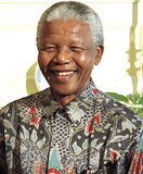 Madiba's signature bold and colorful shirts