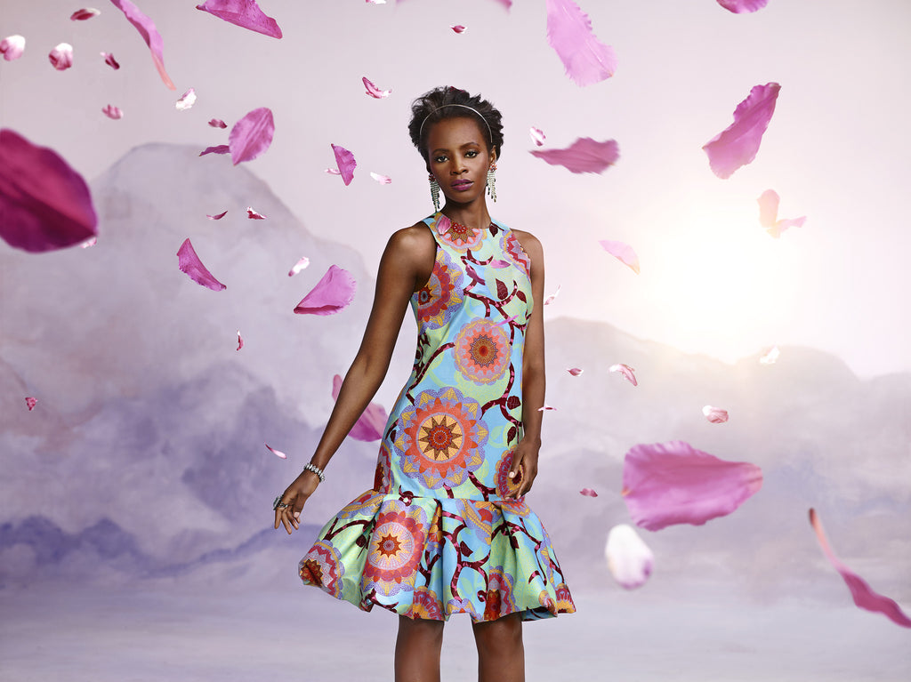 Kuwala hearts Vlisco's Bloom Collection