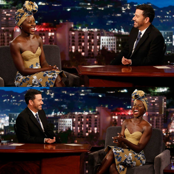 Lupita on Jimmy Kimmel