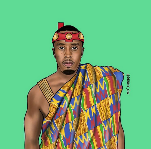 P Diddy Kente