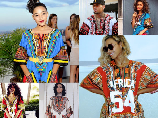 celebs in Dashiki