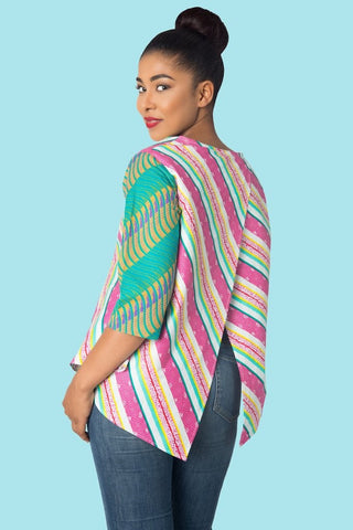 Shop at Kuwala for the Back Wrap Top by KIKI Clothing - 1