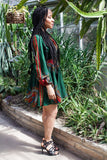 Shop at Kuwala for the Zhara Dress (Forest Green) by Asikere Afana - 2