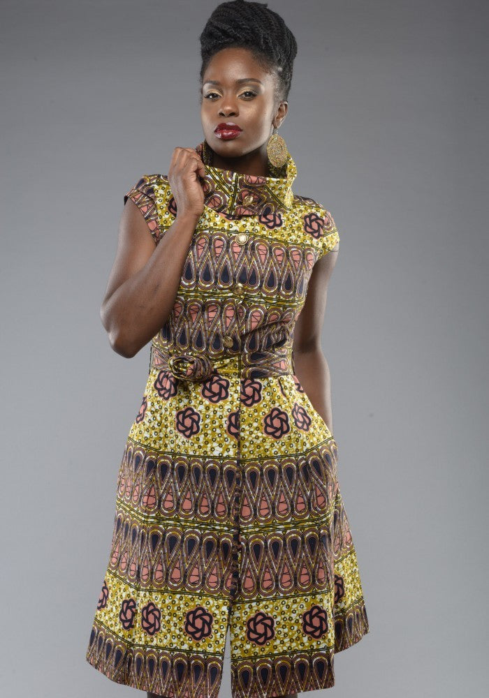 Shop Kuwala.co for the Countess Ankara Dress by Gitas Portal