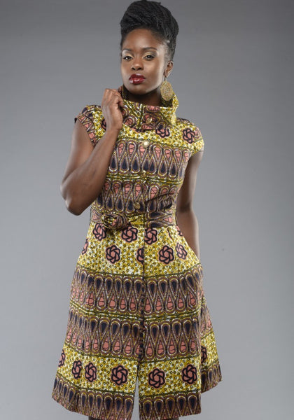 Shop Kuwala for the Countess Ankara Dress by Gitas Portal